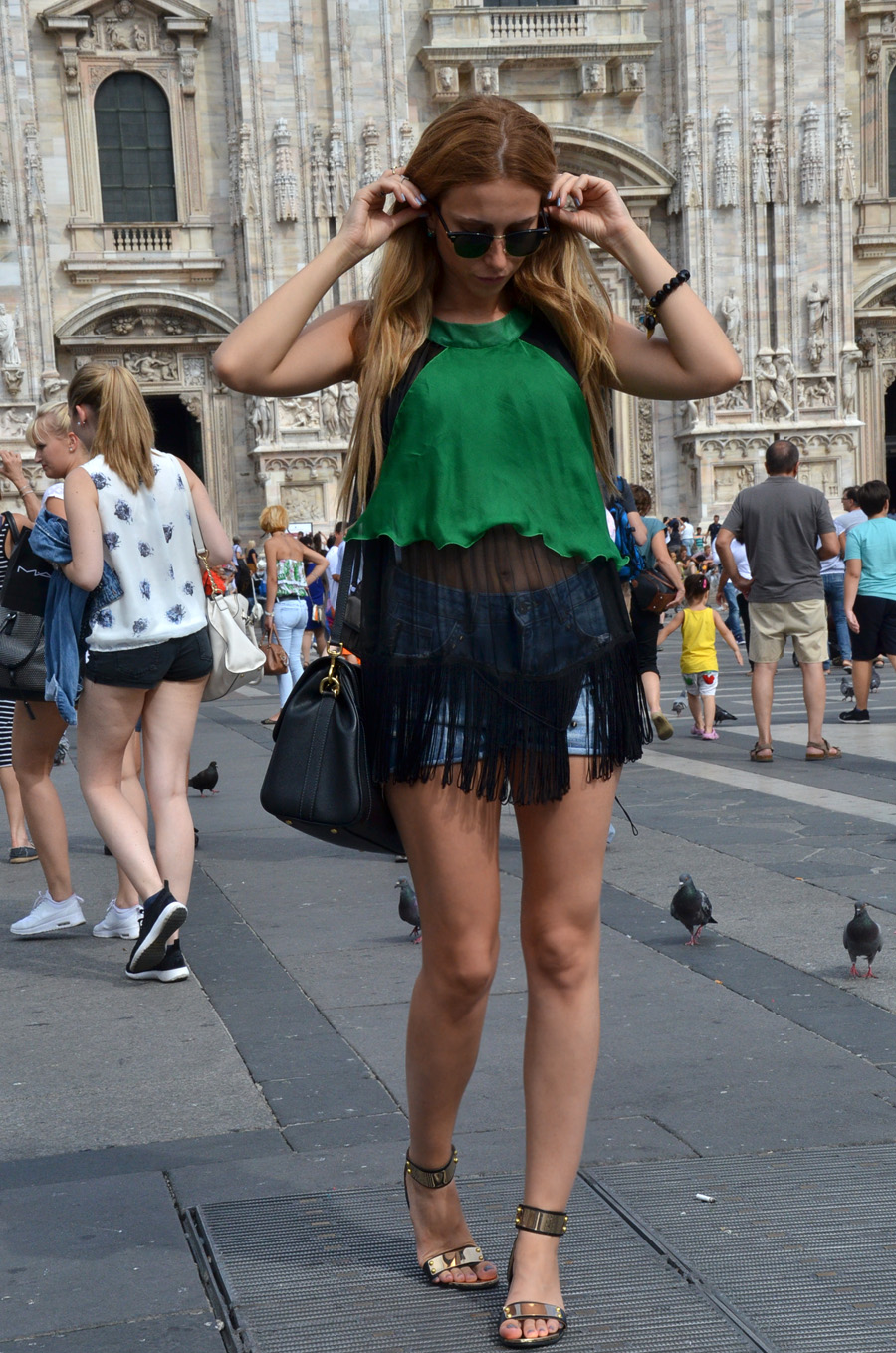 Hello MILAN / Duomo di Milano, Galleria Vittorio Emanuele – Anastasija Stasha OUTFIT