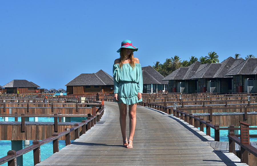 Maldives Mint Dress