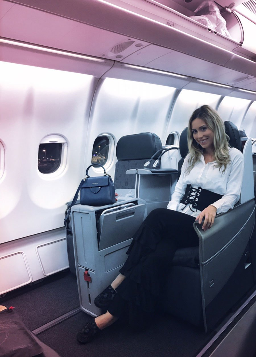 Turkish Airlines Business Class Experience / Putovanje biznis klasom